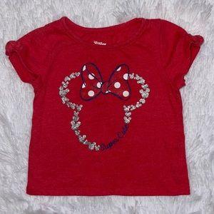 $2 Sale Girls Size 2T Disney Junior Minnie Shirt